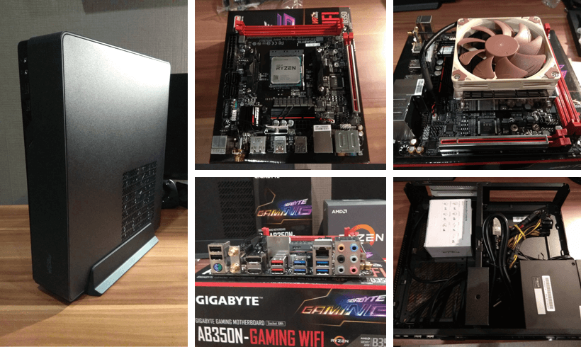 Mini-ITX gamer PC összeállítás