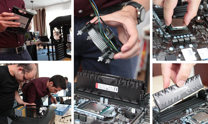 Egyedi PC összeállítás