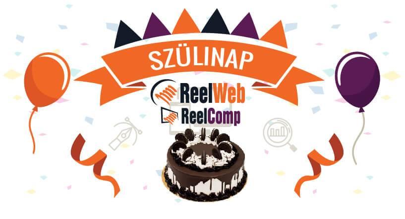 ReelWeb és ReelComp szülinap