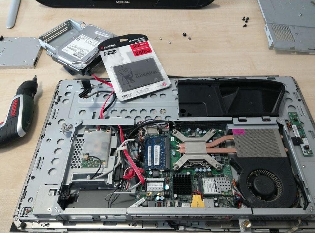 Medion Akoya P2010 D All-In-One PC gyorsítás
