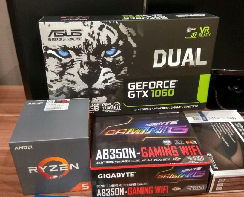 Mini-ITX gamer PC összeállítás Tatabányán