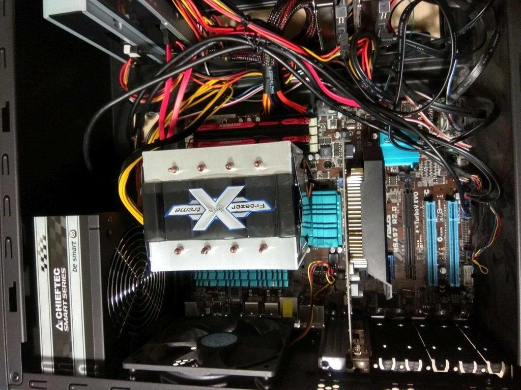 AMD FX 9370 processzor túlmelegedés