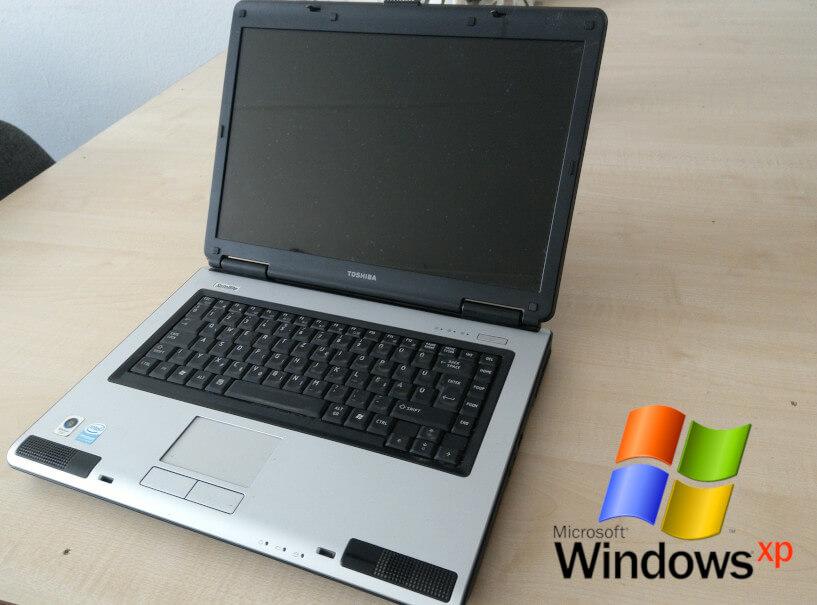 Toshiba Satellite L40 és az eredeti Windows XP