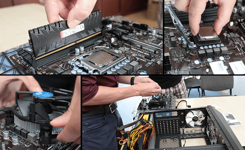PC összeállítás Tatabányán